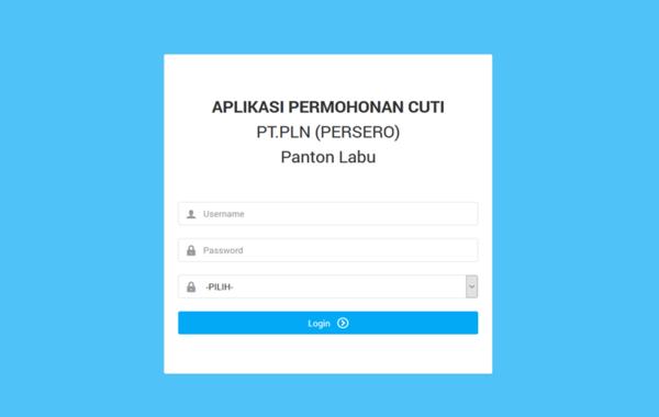 Aplikasi Permohonan Cuti Pegawai Berbasis Web Dengan PHP